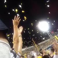 横浜スタジアムへ阪神の岩貞選手