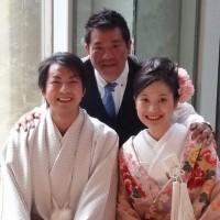 橋本祥吾さんと宮下佳子さんの結婚式